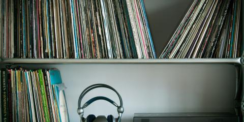 Vinyl und Kopfhörer copyright: Nils Gagerrang
