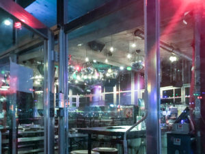 Südblock Blick ins Café