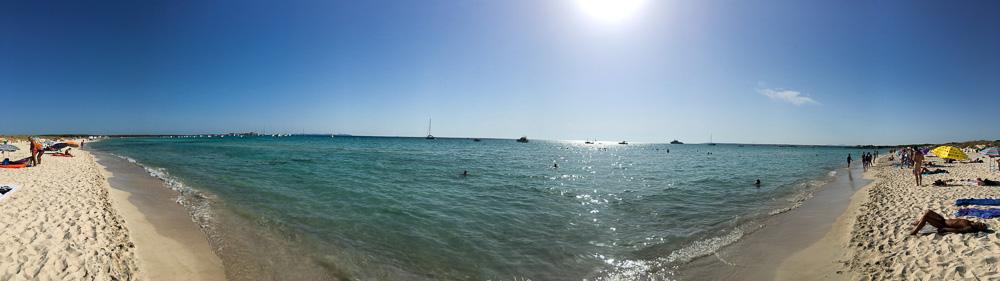 Es Trenc Beach Mallorca Panorama