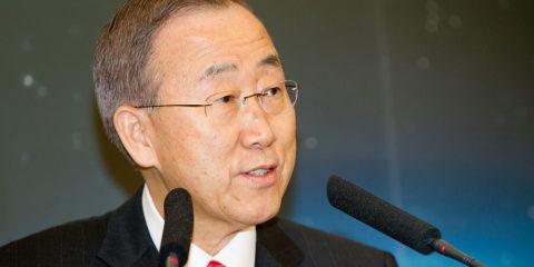 UN Generalsekretär Ban Ki Moon