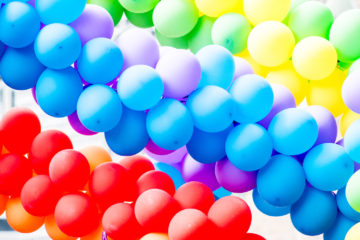 regenbogen-ballons