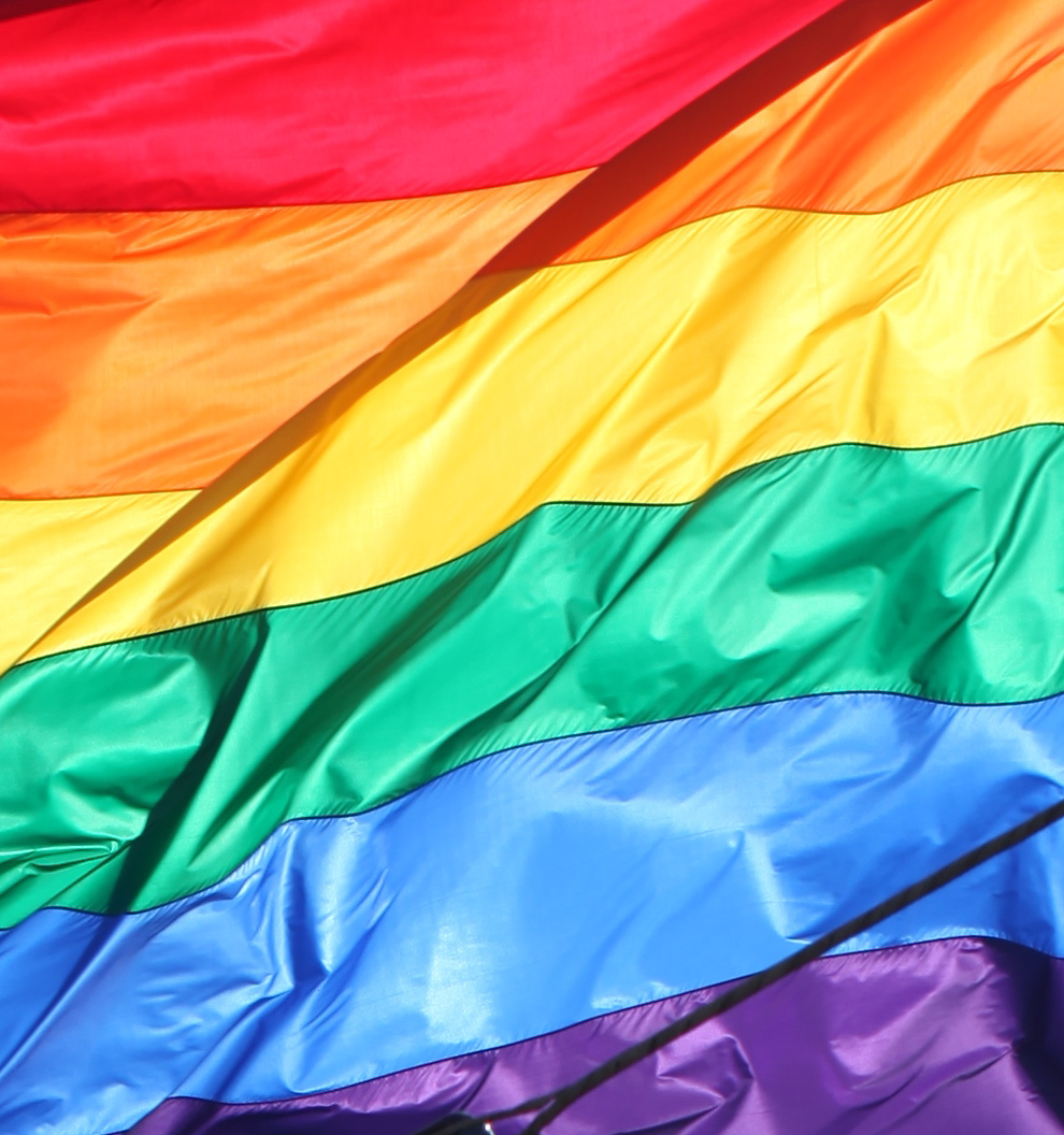 torbakhopper: rainbow flag (CC BY 2.0) via Flickr